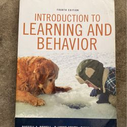 Introduction To Learning And Behavior for Sale in Sugar Land,  TX