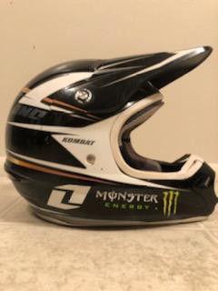 Dirt bike racing helmet for Sale in St. Peters, MO