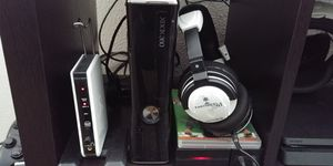 Xbox 360 plus wireless turtle beach X41 and games for Sale in Grover Beach, CA