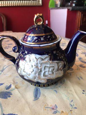 Czech Republic porcelain tea pot cobalt blue original for Sale in Miami, FL