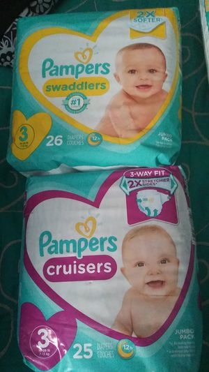 Pampers and huggies diapers for Sale in Dallas, TX