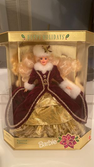 1996 Happy Holidays Mattel Barbie Doll for Sale in Naples, FL