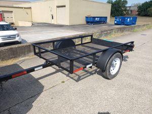5 by 8 black utility trailer for Sale in Nashville, TN