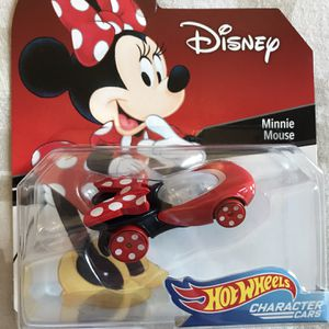 Disney, Minnie Mouse - Hot Wheels Character Car for Sale in Gardena, CA