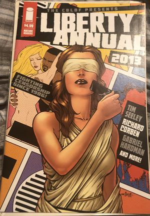 CBLDF Presents, The: Liberty Comics Annual #2013A VF/NM; Image for Sale in Rensselaer, NY
