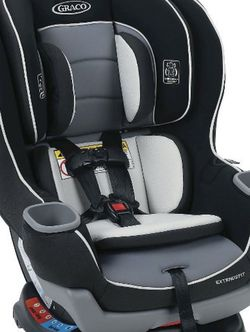 Graco Extended 2 Fit Convertible Car Seat - Gotham for Sale in Irving,  TX