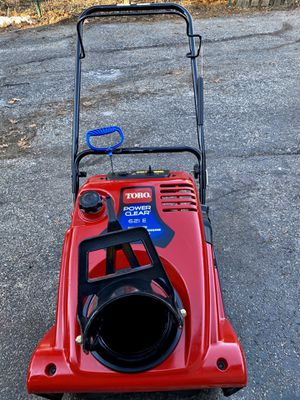Toro power clear 621E pull start or electric start straight gas no mixing for Sale in Lombard, IL