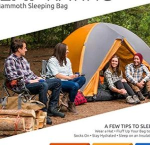 TETON Sports Mammoth single Sleeping Bag; 0'degree FAHRENHEIR Warm and Comfortable for for Sale in Rancho Cucamonga, CA