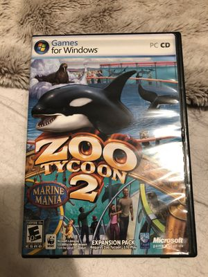 Zoo tycoo 2. Computer game! for Sale in Hollywood, FL