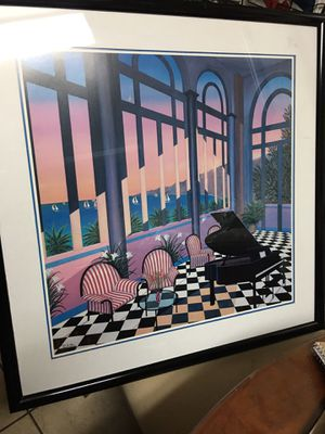 Art Deco : Offset Lithograph picture 28/28 inches. for Sale in Delray Beach, FL