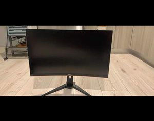 """AOC 27"""" Curved Freesync Gaming Monitor 144Hz, 1ms, Height Adjustable for Sale in Everett, MA"""