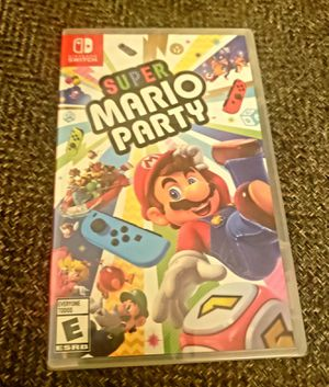 NINTENDO SWITCH SUPER MARIO PARTY BRAND NEW SEALED for Sale in Escondido, CA
