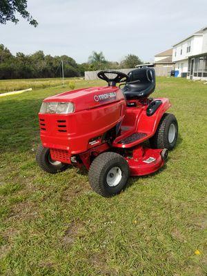 "Troy Bilt Super Bronco Riding Lawn Mower. 19Hp. 42 ""Cut. Need work for Sale in Gibsonton, FL"