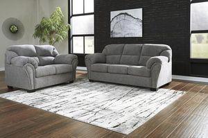 ‼️Allmaxx Pewter Living Room Set‼️ for Sale in Austin, TX