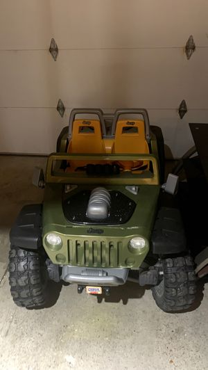 Power Wheels Jeep - Needs battery for Sale in Westerville, OH