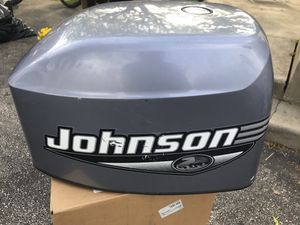 35hp Johnson outboard motor Cover for Sale in Broomall, PA