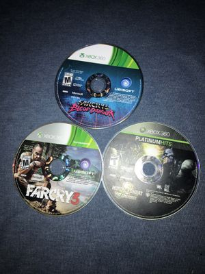 FarCry 3, FarCry 3 Blood Dragon and Mortal Combat x Dc Universe Xbox Games for Sale in Waterbury, CT