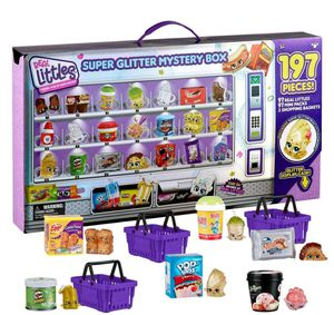 Real littles/ Shopkins glitter edition 197 pcs for Sale in Hazlet, NJ