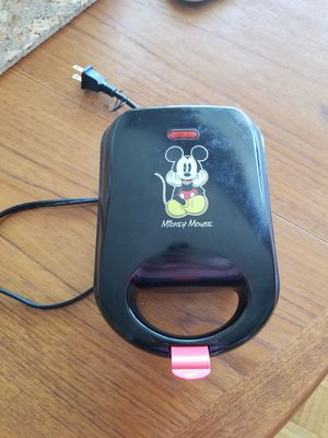 Mickey Mouse Waffle Maker Good Used Condition for Sale in ROXBURY CROSSING, MA
