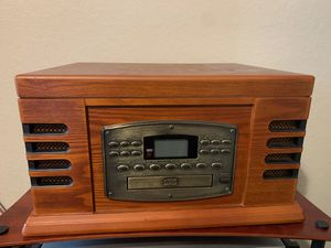 old fashioned jukebox CD player and radio for Sale in Tomball, TX