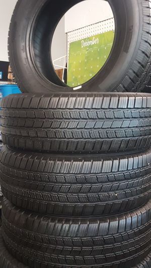 Set of tires Michelin 245-65-17 for Sale in Kinston, NC