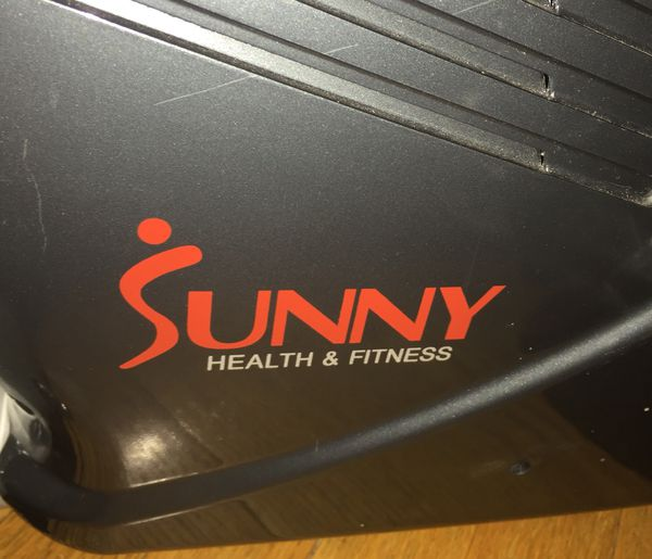 Sunny health & fitness stationery bicycle exercise machine