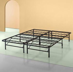 Zinus Shawn 14 Inch SmartBase Mattress Foundation / Platform Bed Frame / Box Spring Replacement / Quiet Noise-Free / Maximum Under-bed Storage, Cal K for Sale in Anaheim, CA