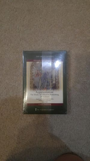 The Great Courses - Argumentation: The Study of Effective Reasoning - Parts 1 and 2 for Sale in Haymarket, VA
