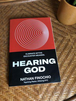 Hearing God Nathan Finochio Book for Sale in San Antonio, TX