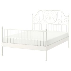 Moving Sale! Brand New IKEA metal Bed Frame with/without bed $100/$200 for Sale in Moon, PA