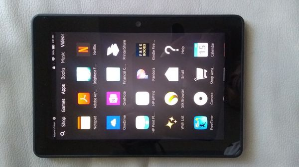 Amazon Kindle Fire HDX Tablet, 16GB, WiFi