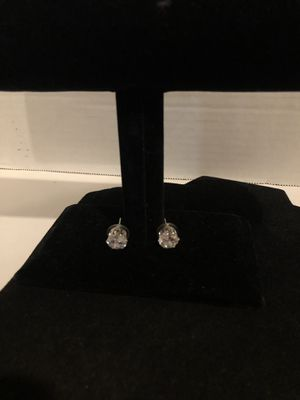 Round diamond CZ Earrings for Sale in North Las Vegas, NV