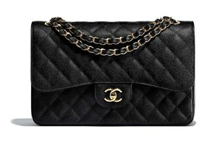 Black chanel flap purse for Sale in Port Orchard, WA