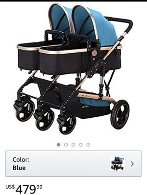 Yibaolai Double Side Baby Stroller for 2 for Sale in Montclair, CA