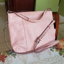 Coach Crossbody Bag Light Pink Leather Meduim Size Sling Messenger Shoulder Bag for Sale in St. Cloud,  FL