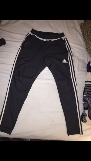 b5960a790e86b8 Dark grey adidas sweats for Sale in McMinnville