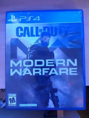 Modern Warfare Ps4 for Sale in Seekonk, MA