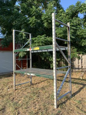 Pallet Rack with 2 Shelves. for Sale in Dallas, TX