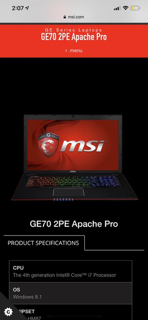 Gaming laptop for Sale in Sacramento, CA