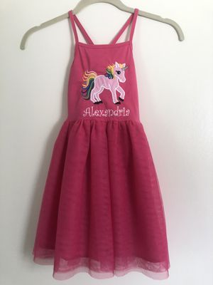 Unicorn Dress 5T for Sale in Valrico, FL