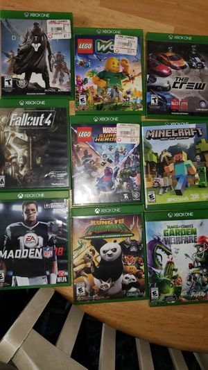 Xbox one games for Sale in Los Angeles, CA