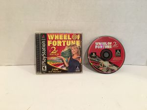 Playstation One Ps1 Wheel Of Fortune 2nd Edition Game for Sale in San Bernardino, CA