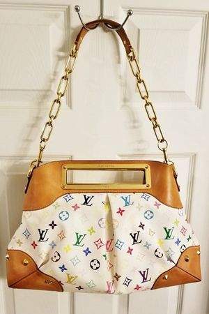 Authentic EUC Louis Vuitton Judy GM 2-Way Bag Murakami Multicolore Collectible Orig$3150+Tax for Sale in Carmel, IN