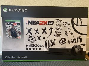 Brand new: Xbox one X (with receipt) for Sale in Los Gatos, CA