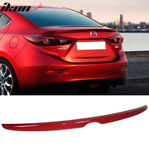 Fits 14-16 Mazda 3 Sedan OE Factory Painted Trunk Spoiler #41V Soul Red Metallic for Sale in La Puente, CA