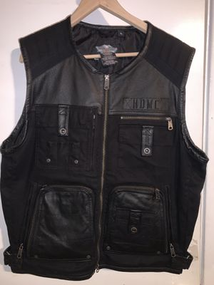 Harley Davidson (XL) vest for Sale in Glendora, CA