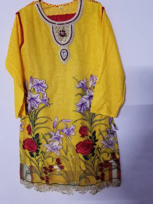 Net Lawn embroidery 3pc dress large for Sale in Milford Mill, MD