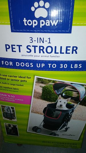 Pet stroller two in one for Sale in Oklahoma City, OK