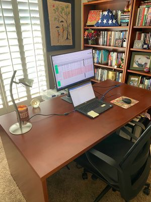 Desk, bookshelves & filing cabinet for Sale in Scottsdale, AZ