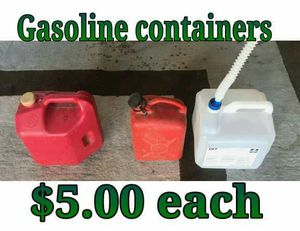Gasoline containers for Sale in Hacienda Heights, CA